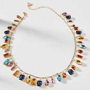 Anthropologie Candy Charm Bib Necklace NWT